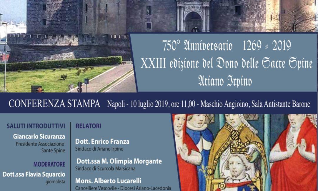 Conferenza Stampa    Maschio Angioino Napoli